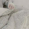 You can never go wrong with dots! Lovely Cozy Dots teddy blanket of Mies & Co.
