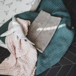 donkergroene ledikant deken